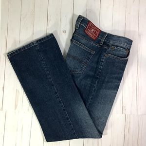 Lucky Brand Dungarees Rider Fit Relaxed 8 or 29
